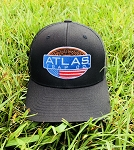 Atlas Logo Cap - Black