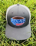 Atlas Logo Cap - Two-Tone Gray