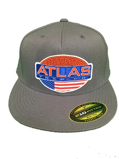 Atlas trap 3-d logo hat
